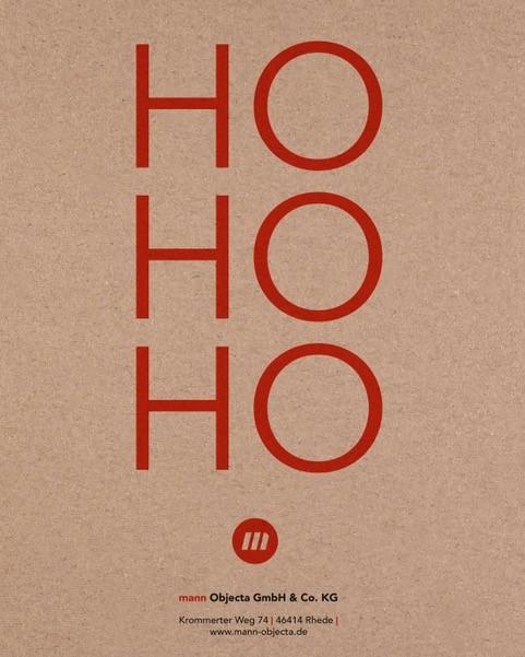 Weihnachtskarte 2020 mannObjecta